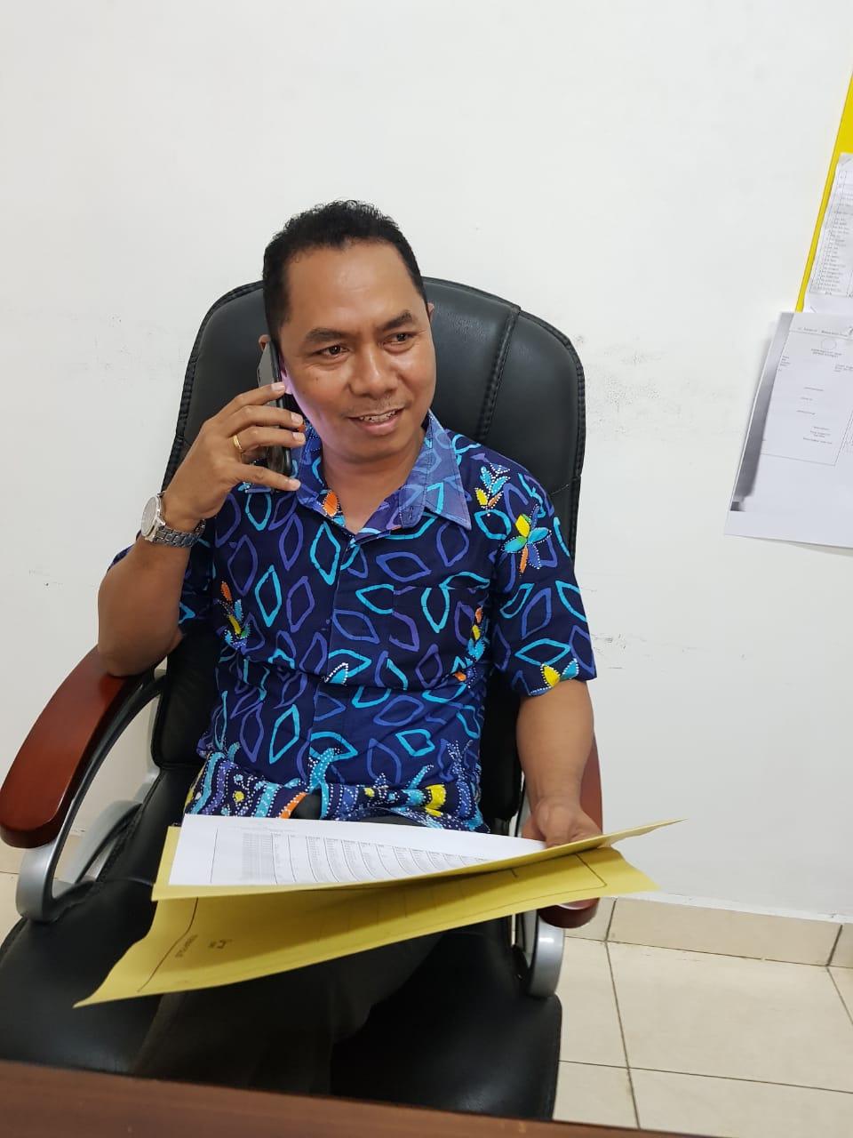 Ketua KPU NTT, Thomas Dohu