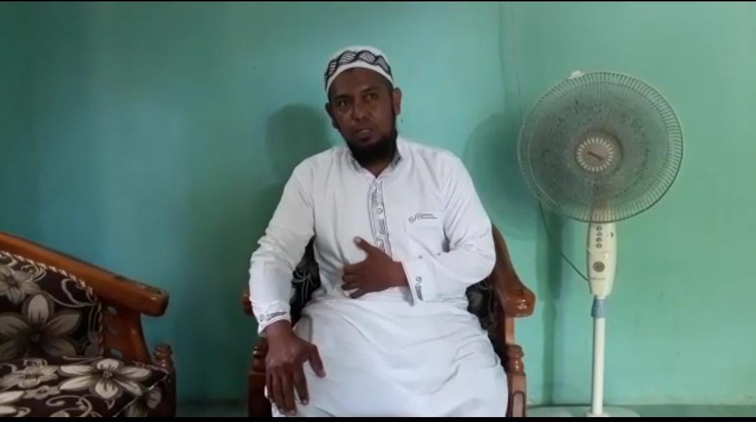 Ketua Nadwatul Ulama (NU) Kabupaten Mamggarai Timur Nusa Tenggara Timur Ustadz Hendra Umbu Rundi